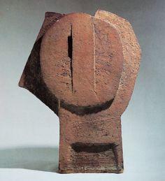 沈黙 (陶彫) 1957   Shindo Tsuji (1910-1981)