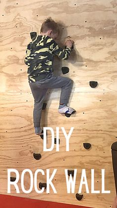 Kids Indoor Gym, Kids Gym, Diy For Kids, Cool Kids, Traditional Toys, Fun Projects, Project Ideas, Rock Wall, Toddler Preschool