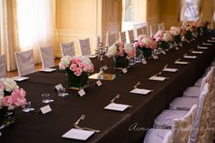 What a perfect Table. Table Wedding, Wedding Dinner, Luxury Flowers, Pinterest For Business, Photography Business, Table Settings, Table Decorations, Weddings, Home Decor