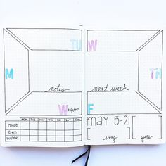 """91 Likes, 1 Comments - Rebecca Spooner (@planninginspiration4u) on Instagram: """"I love this colorful layout from @4lilmonkies ! Are you ready for this week in your bujo? I want…"""""""