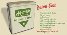 WEB-O-MATIC Launch Special - Business Starter Package