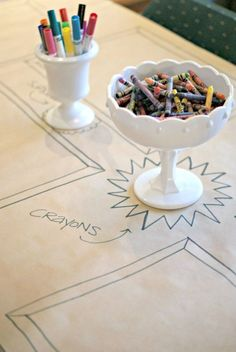kids only table at weddings