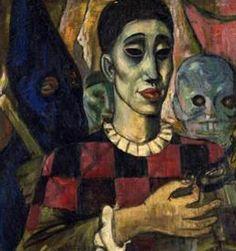 Roberto Montenegro (Mexican, 1887-1968) - El  sueño de Pierrot