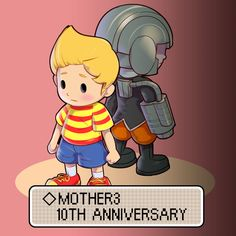 MOTHER3 10th anniversary congratulations! by Gonzales
