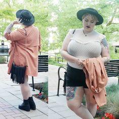 margot meanie - edgy plus size fashion