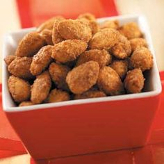 Holiday Almonds Recipe | Taste of Home Recipes