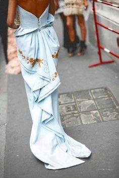 """ Maximova Marina in Ulyana Sergeenko couture dress """