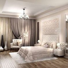 Master bedroom design ideas - You must understand what for you to do by using a room before you begin any design work. The climate of the room can range from calm and artistic to subdued and traditional. Beautiful Bedrooms, Room Design, Bedroom Makeover, Luxurious Bedrooms, Home Decor, House Interior, Bedroom Inspirations, Luxury Bedroom Master, Trendy Bedroom