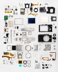 Exploded view of the Olympus E-P1. | 43 Rumors