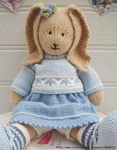Зайка Колокольчик от Мери Джейн.