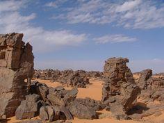 Maghatghat, Maghidet Desert, Lybia