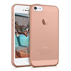 kwmobile Funda de TPU silicona chic y sencilla para el Apple iPhone SE / 5 / 5S en oro rosa - http://www.tiendasmoviles.net/2017/06/kwmobile-funda-de-tpu-silicona-chic-y-sencilla-para-el-apple-iphone-se-5-5s-en-oro-rosa/