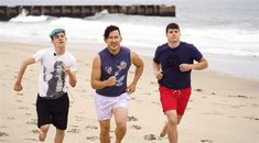I love this so much because it feels like they're running to save me
