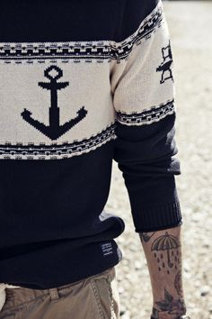 .Anchor sweater
