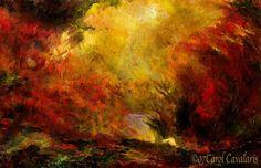 Obras de Arte: El arte de la fantasía Carol Cavalaris   Colorado  