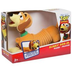 Buy Disney Pixar Toy Story Slinky Dog Plush Jr at Argos.co.uk - Your Online Shop for Teddy bears and interactive soft toys.