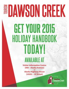 2015 Dawson Creek, BC Holiday Handbook - All upcoming holiday events!