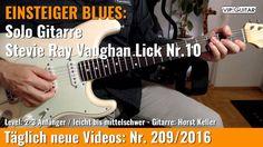 ✪ EINSTEIGER BLUES ►Stevie Ray Vaughan Lick Nr.10