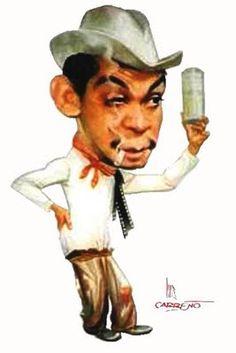 """Nuestro gran comediante mexicano: Mario Moreno """"Cantinflas"""" (aut. Luis Carreño)"""