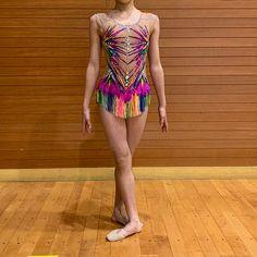 Leotard for rhythmic gymnastics Gymnastics Photos, Rhythmic Gymnastics Leotards, Halloween Outfits, Just Amazing, Cool Costumes, Swimsuits, Swimwear, Etsy, Beautiful