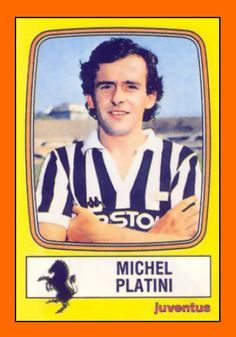 Old School Panini: Mexico 86 : Michel PLATINI Michel Platini, Football Stickers, Football Cards, Baseball Cards, Retro Football, Football Soccer, Mexico 86, Laws Of The Game, Association Football