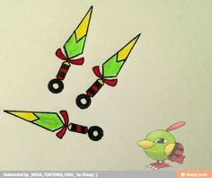 This Pokemon weapons cute