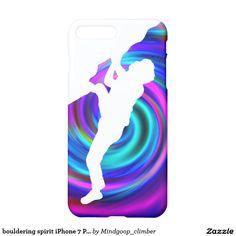 bouldering spirit iPhone 7 Plus case