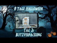 8 Tage Halloween - Tag 2 - Blitzverpackung mit Produkten von Stampin' Up! - YouTube