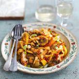 Chicken and pepper pasta