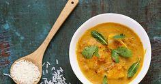Curry de poisson à l'indienne (inspiré d'une recette du Kerala). Facile, délicieux, parfumé et rapide.