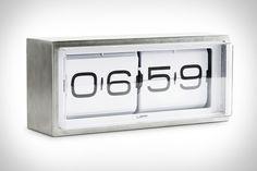 Brick Flip Clock.
