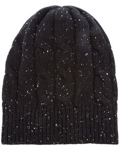 c8b3c190be1 Black Donegal Beenie from Adam Kimmel Donegal