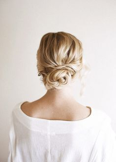up-do, add pearl or floral pins