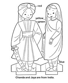 Google Image Result for http://www.activity-sheets.com/cutout/world-children/doll_pics/indiacouple.gif