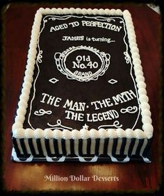 Cupcakes decoration for men dad birthday party ideas 25 new Ideas 50th Birthday Party Ideas For Men, Birthday Cake For Husband, Birthday Decorations For Men, 60th Birthday Cakes, 70th Birthday Parties, Man Birthday, 50th Party, Birthday Invitations, Festa Jack Daniels