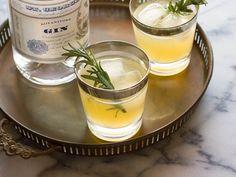 Charred Lemon Gin Sparkler Recipe