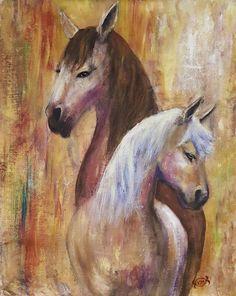 descendens Mammals, Painting, Art, Craft Art, Painting Art, Kunst, Paint, Gcse Art, Painting Illustrations