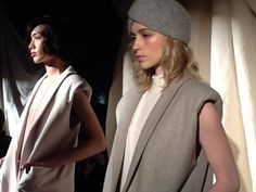 suzanne rae runway show - sustainable fabrics often created with zero waste - mucho green style.