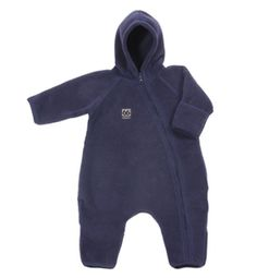 Kria Overall w/sock & mittens. Polartec® Thermal Pro®. Cosy, technical fleece overall for your baby. Also available in red and white.