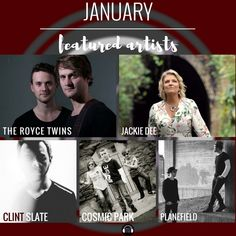 Featured artists for the new month are now up on Music Talks!👉 Read their own stories & hear the music from Jackie Dee The Royce Twins  @Planfield Clint Slate & Cosmic Park  www.musictalks.xyz/featured-artists?utm_content=buffer14c9e&utm_medium=social&utm_source=pinterest.com&utm_campaign=buffer
