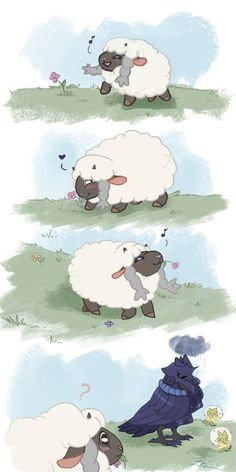 Wooloo's Gift pt. 1 by TopazTigerCreations on DeviantArt Wooloo's Gift pt. 1 by TopazTigerCreations on DeviantArt Pokemon Comics, Pokemon Memes, Pokemon Funny, All Pokemon, Pokemon Fusion, Pokemon Stuff, Random Pokemon, Pokemon Cards, Pokemon Human