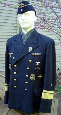 kriegsmarine uniform die de marine van duitsland gebruikte
