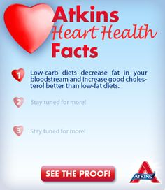 Atkins Diet Science Fact #1