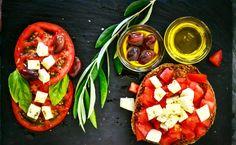 weight loss tea made with ginger Salada Caprese, Caprese Salad, Tomato Salad, Red Tomato, Dieta Dash, Dieta Atkins, Atkins Diet, Pasta Casera, Vegetarian Recipes