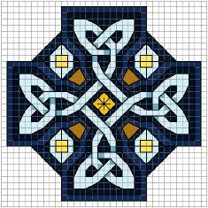 Aon Celtic Art free cross stitch chart