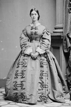 Kate Chase, the (unofficially) acknowleged social queen of Washington society during Lincoln's presidency. Mary Todd Lincoln loathed her.