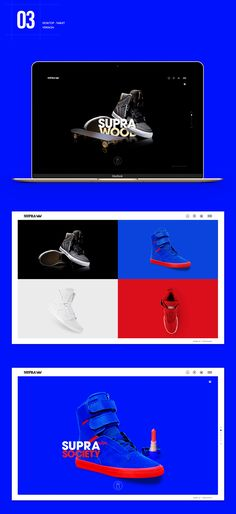 Supra Footwear Website on Behance Portfolio Web Design, Web Ui Design, Page Design, Ui Portfolio, Supra Shoes, Supra Footwear, Holographic Print, Web Design Projects, Ui Web