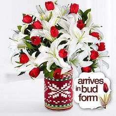Deluxe Tulips in the Snow and other flowers & plants at ProFlowers.com