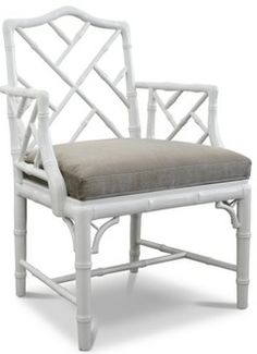 Chinese Chippendale Chairs---Bamboo