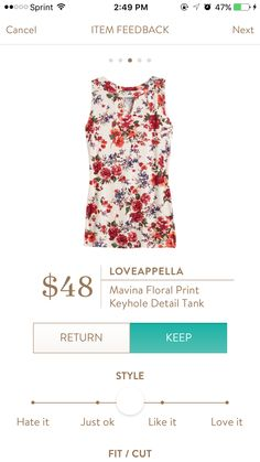 I love all of this. Floral, cutouts!